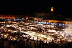 Jemaa el-Fnaa market place in Marrakesh, Stock Photo