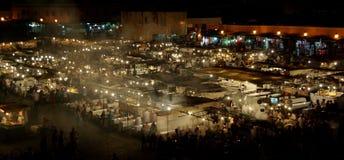 Jemaa el-Fnaa Marrakesh Стоковые Изображения