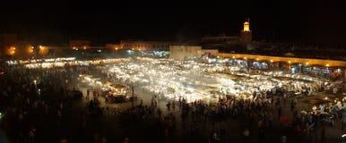 Jemaa el-Fnaa Marrakesh Стоковые Изображения RF