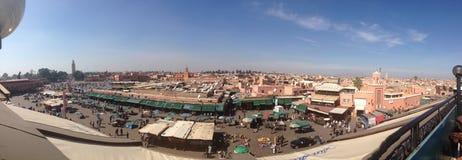 Jemaa el-Fnaa. Medina of Marrakech stock image