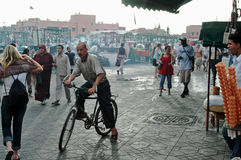 Jemaa el-Fnaa Medina of Marrakesh, Morocco Stock Photo
