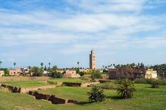 Jemaa El, Marrakech Fotografia Stock
