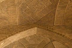 Jemah moské, Isfahan, Iran Arkivfoto