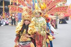 Jember modekarneval royaltyfria bilder