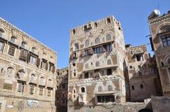 Jemen, dziejowy centrum Sana'a Zdjęcia Stock