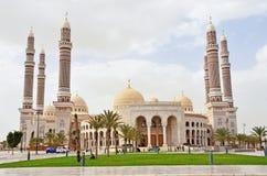 Jemen, Sana'a: Saleh meczet Zdjęcia Royalty Free