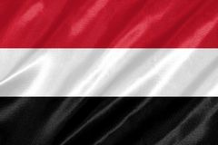Jemenflagge stock abbildung
