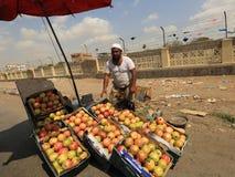 Jemenit auf Aden Street Lizenzfreies Stockbild
