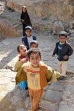 Jemenitische Kinder Lizenzfreie Stockbilder