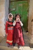 Jemenitische Kinder Stockfoto
