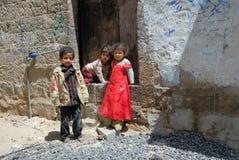 Jemenitische Kinder Stockfotografie