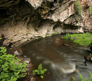 jemez墨西哥新的河 库存照片