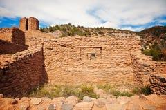 Jemez State Monument in Jemez Springs Royalty Free Stock Image
