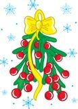 jemioła świąteczne Zdjęcie Royalty Free