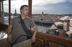 Jemma balkong Fotografering för Bildbyråer