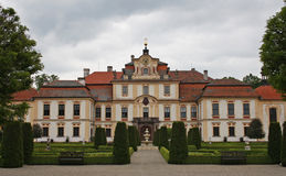 Jemniste castle. In czech republic Royalty Free Stock Images