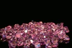 Jemstone dark pink Stock Image