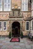 Jen Bang House i Aalborg, Danmark Royaltyfria Bilder