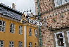 Jen Bang House i Aalborg, Danmark Arkivbilder
