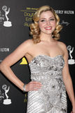 Jen Lilley arrives at the 2012 Daytime Emmy Awards Royalty Free Stock Images