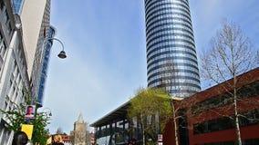 Jena Germany neue Mitte stock video footage