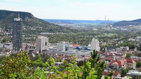 Jena Germany view stock footage