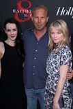 Jena Malone, Kevin Costner, Lindsay Pulsipher at the  Royalty Free Stock Images