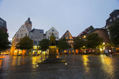 Jena Square. The main market square in Jena, Germany Royalty Free Stock Images