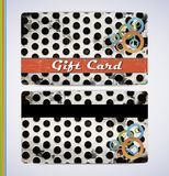 Jenas Gift Card Stock Photo