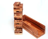 Jenga Royalty Free Stock Photos