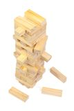 Jenga game Royalty Free Stock Photos