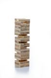 Jenga game Royalty Free Stock Photo