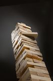 Jenga Game  Strategy Stock Photo