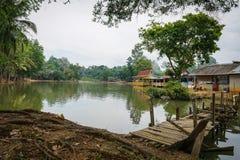 Jengka的彭亨湖 库存照片
