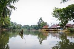 Jengka的彭亨湖 库存图片