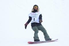 Jenna Blasman - slopestyle Photo stock