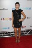 Jenna Dewan bij de van de het Sluiten van het Festival van de Film van Los Angeles Première van het Feest Nacht   Stock Afbeelding