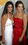 Jenna Dewan and Emmanuelle Chriqui Stock Photos