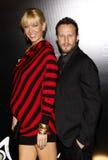 Jenna Elfman and Bodhi Elfman Stock Images