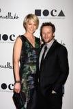 Jenna Elfman, Bohdi Elfman Royalty Free Stock Image