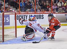IIHF Women's Ice Hockey World Championship royalty free stock photo