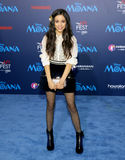 Jenna Ortega. At the AFI FEST 2016 Premiere of `Moana` held at the El Capitan Theatre in Hollywood, USA on November 14, 2016 Royalty Free Stock Images