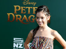 Jenna Ortega. At the World premiere of 'Pete's Dragon' held at the El Capitan Theatre in Hollywood, USA on August 8, 2016 Royalty Free Stock Images
