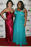 Jenna Ushkowitz, Amber Riley Photos stock