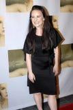 Jenna Von Oy auf dem roten Teppich Stockbild