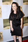 Jenna Von Oy on the red carpet. Jenna Von Oy appearing live on the red carpet stock image