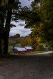 Jenne Farm in Vermont Stockbild