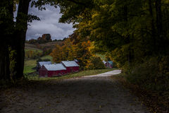 Jenne Farm in Vermont Stock Images