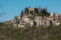 Jenne village in the lazio region Royalty Free Stock Photos