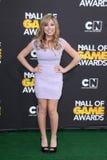 Jennette McCurdy chez Cartoon Network Hall des récompenses de jeu, hangar de bonimenteur, Santa Monica, CA 02-18-12 Images libres de droits